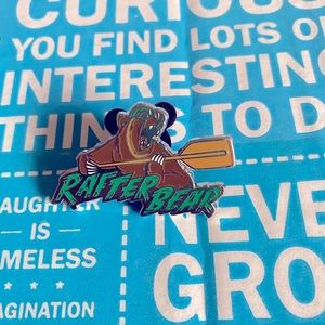 Fantasyland Football Mystery Pin - Rafter Bear
